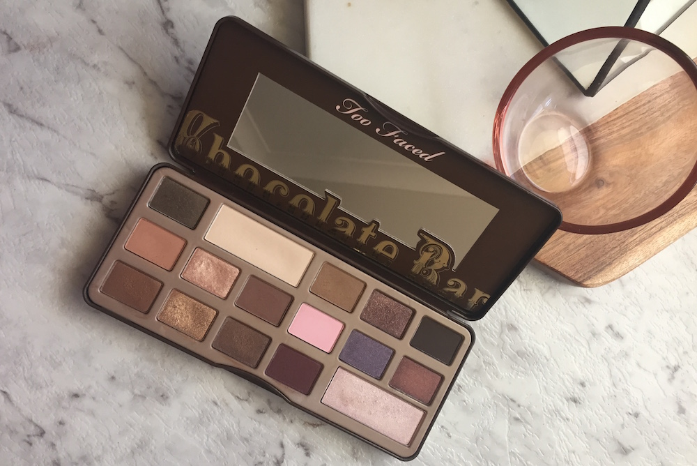 First impressions – the Too Faced Chocolate Bar Palette!