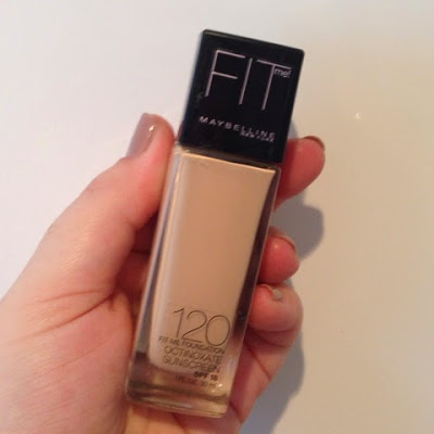 First impressions – Maybelline FIT me liquid foundation.