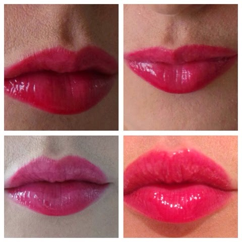 Get the look – the glossy rosey lip
