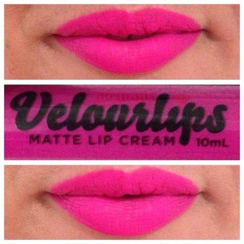 First impressions Australis Velourlips Matte Lip Cream