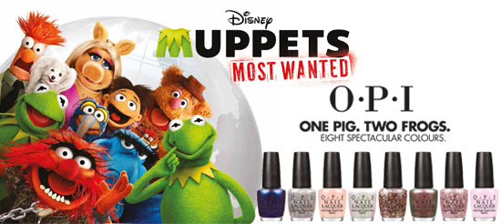 OPI Muppets collection swatches and review
