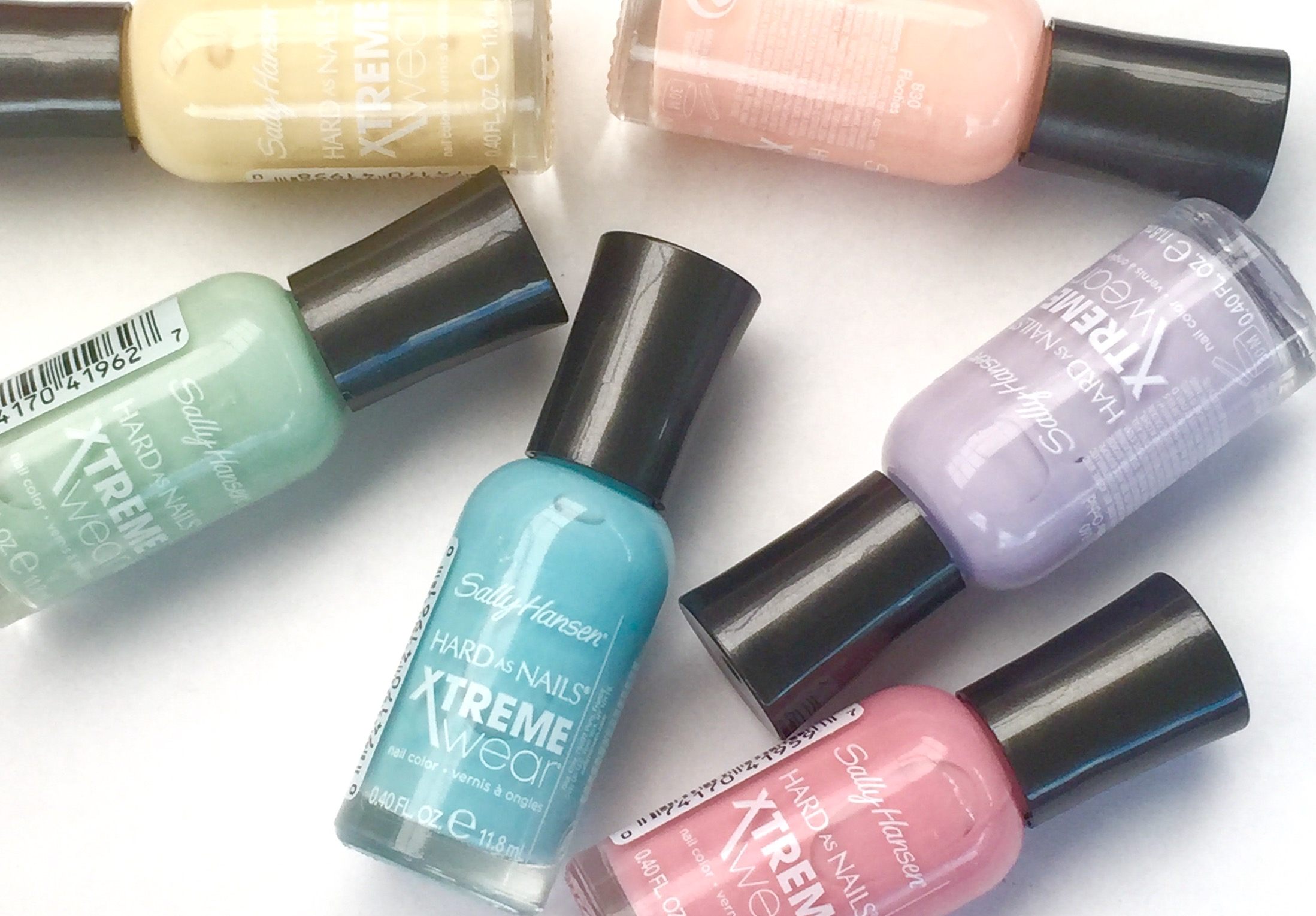 NaiMania – Sally Hansen Hard as Nails Xtreme Wear Summer Pastels
