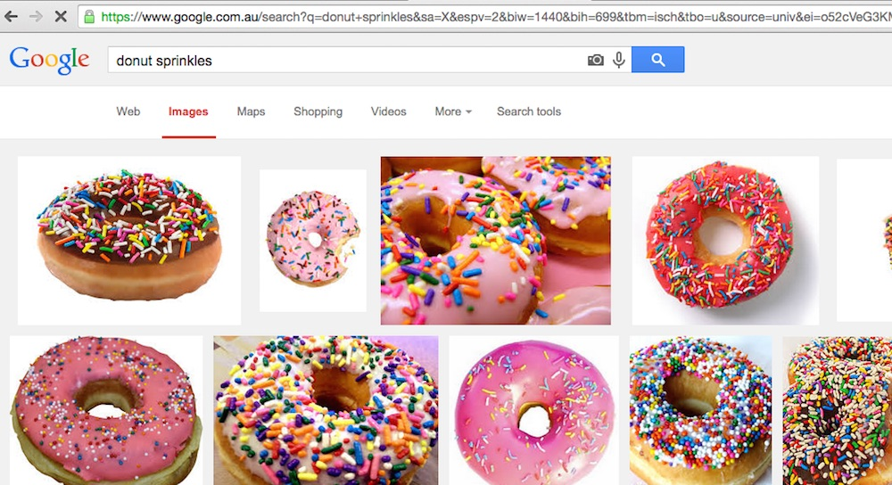 donut search