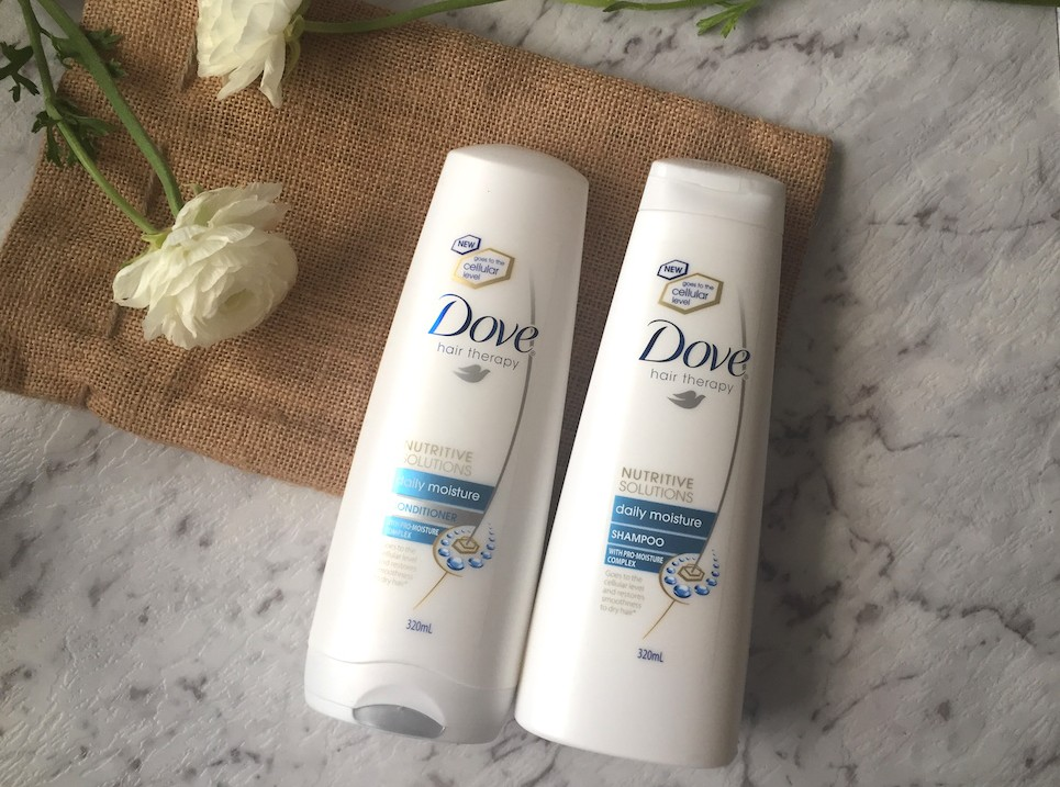 Dove Hair Therapy Daily Moisture range