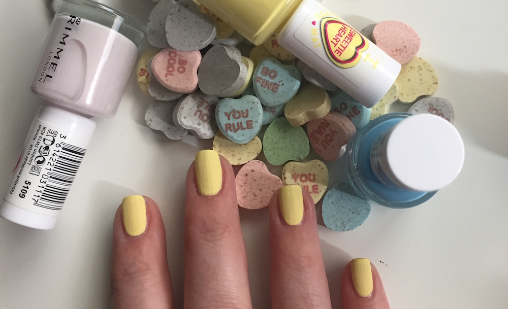 rimmel sweetie yellow