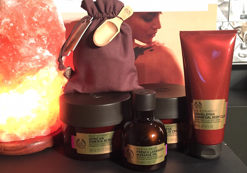 the body shop rituals