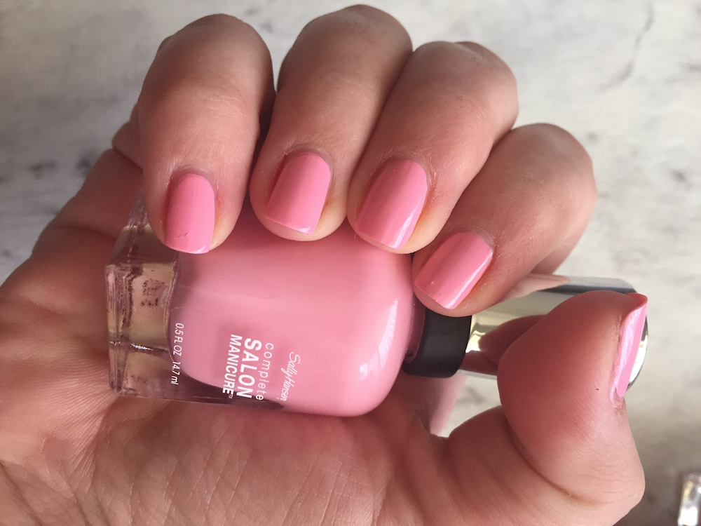 sally hansen pink