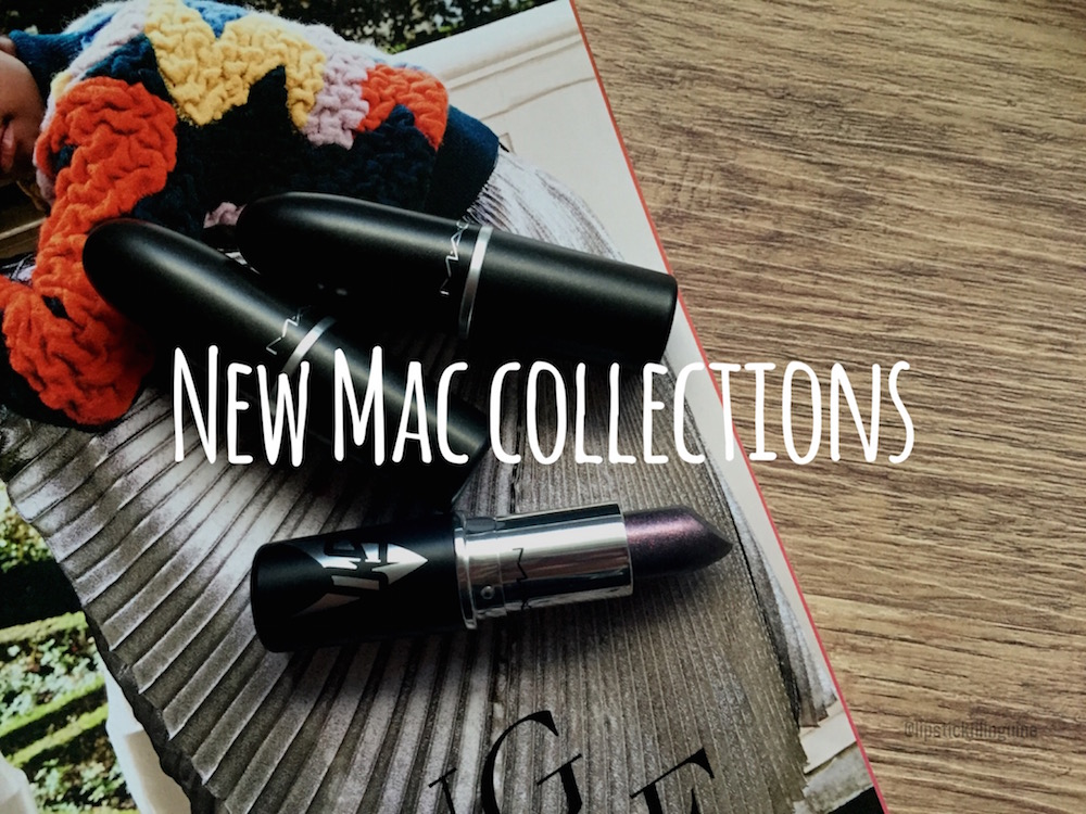 NEW MAC COLLECTIONS! Fall '16