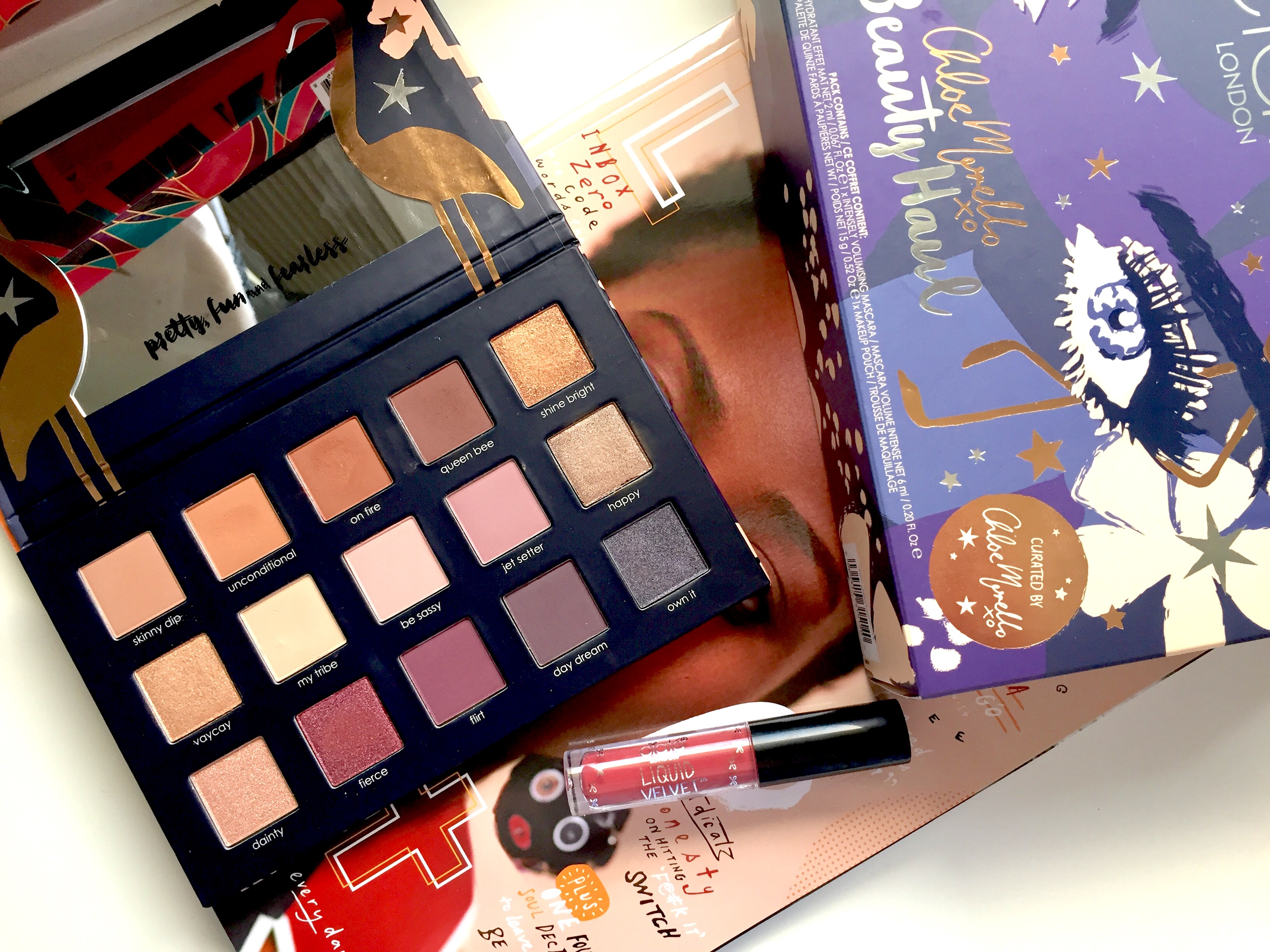 Ciate X Chloe Morello Beauty Haul
