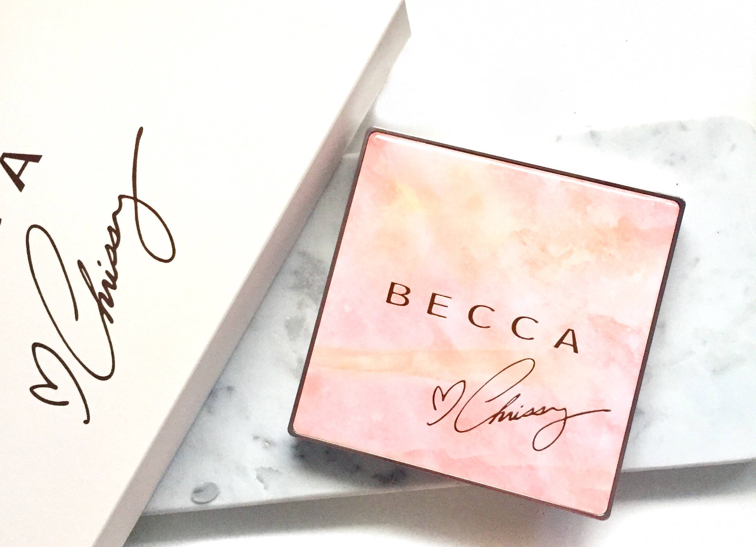 BECCAxCHRISSY FACE GLOW PALETTE