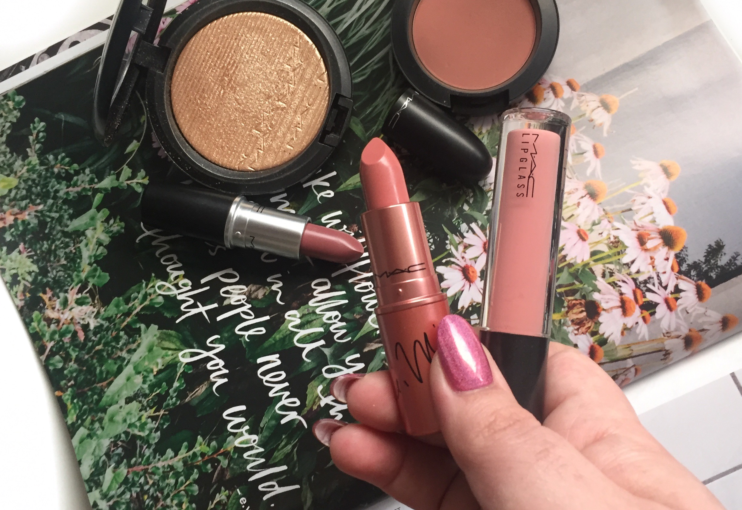 In the nude mood with MACxNickiMinaj
