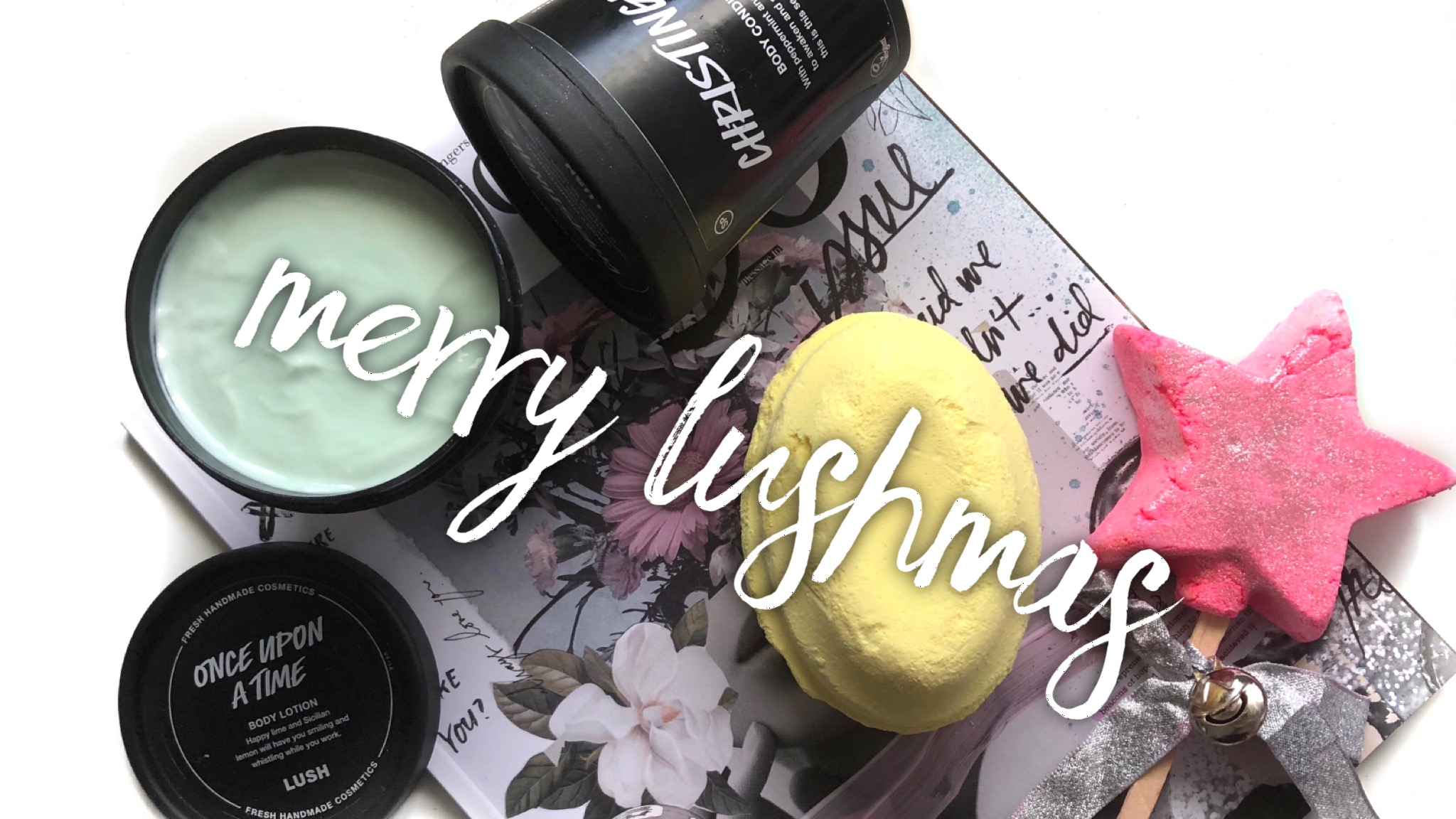 MERRY LUSHMAS from LUSH!